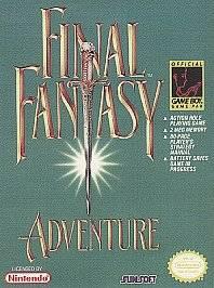 Final Fantasy Adventure Nintendo Game Boy, 1991