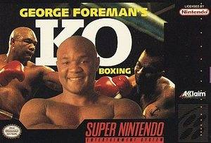 George Foremans K.O. Boxing Super Nintendo, 1992