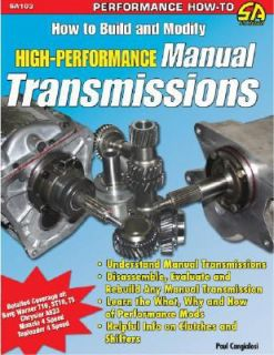 How to Build and Modify High Performance Manual Transmissions by Paul