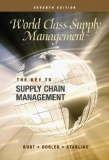 Management The Key to Supply Chain Management with Student CD Cases