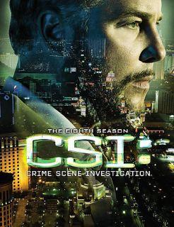 CSI Crime Scene Investigation   The Complete Eighth Season DVD, 2008