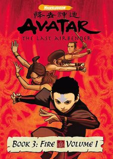 Avatar The Last Airbender   Book 3 Fire   Vol. 1 DVD, 2007
