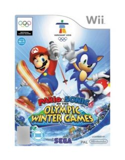 Mario Sonic at the Olympic Winter Games Nintendo Wii, 2009
