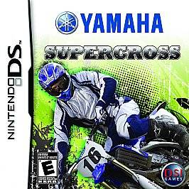 NEW Yamaha Supercross (Nintendo DS, 2009) NDS DSI LITE XL SEALED