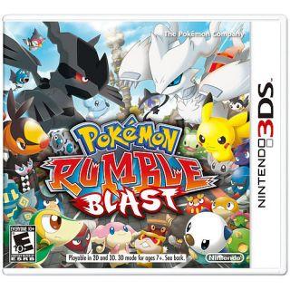 Pokemon Rumble Blast Nintendo 3DS, 2011