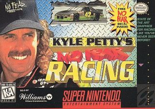 Kyle Pettys No Fear Racing Super Nintendo, 1995