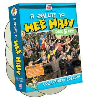 Salute To Hee Haw DVD, 2007, 5 Disc Set