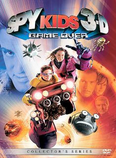 Spy Kids 3 Game Over DVD, 2004, Includes both 2 D and 3 D Versions