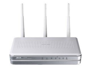 ASUSTeK RT N16 300 Mbps 4 Port Gigabit Wireless N Router 90 IG0D002M00