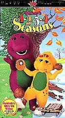 Barney barneys 1 2 3 4 seasons vhs 1996