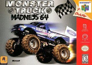 Monster Truck Madness 64 Nintendo 64, 1999