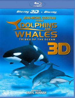 Dolphins and Whales 3D Tribes of the Ocean Blu ray Disc, 3D