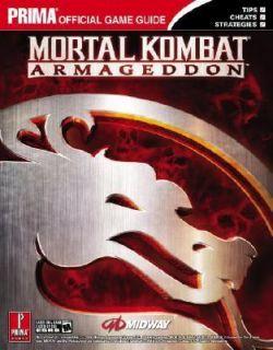 Mortal Kombat Armageddon by Bryan Dawson, Prima Games Staff, Fletcher