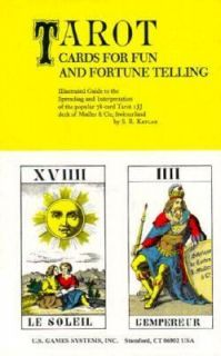 Tarot Cards for Fun and Fortune Telling Vol. 1 by Stuart R. Kaplan