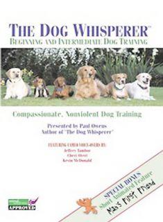Whisperer   Beginning and Intermediate Dog Training DVD, 2005