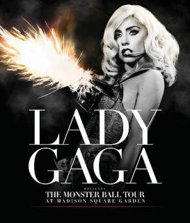 Lady Gaga The Monster Ball Tour at Madison Square Garden DVD, 2011