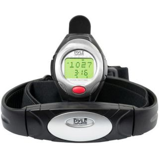 One Button Heart Rate Monitor Watch with 3D Running/Walkin​g Sensor