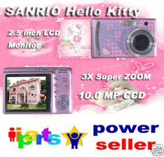 Original SANRIO Hello Kitty DC 1520 10MP DC1520 Digital Camera/U