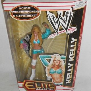 WWE KELLY KELLY SERIES 17 ELITE MATTEL ACTION FIGURE VERY HARD TO FIND