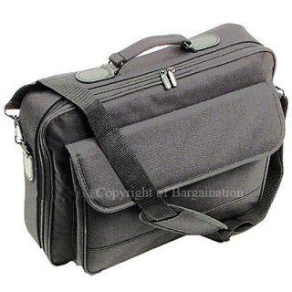 171615Laptop Notebook carrying bag case briefcase ~ black