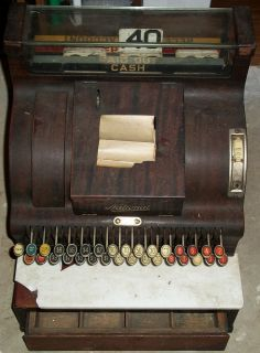 antique national cash register in Cash Register, Adding Machines