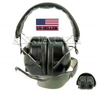 ELECTRONIC HEARING EAR MUFFS & EYE PROTECTION SHOOTING RANGE G3