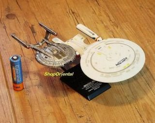 TOYS STAR TREK USS Enterprise NCC 1701 D & NX 01 Spaceship Model FT
