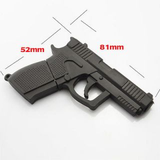 Hand Gun Shape 8GB USB Flash Memory Pen Drive Thumb Stick Data New