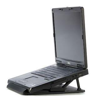 Set of 2 Universal Black Laptop Stands   Computer Accessories