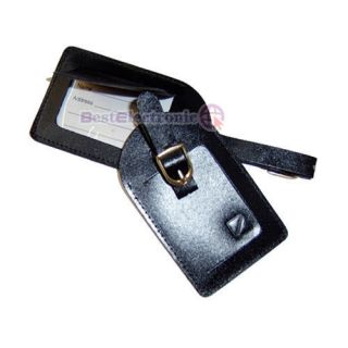 leather luggage tags in Luggage Tags