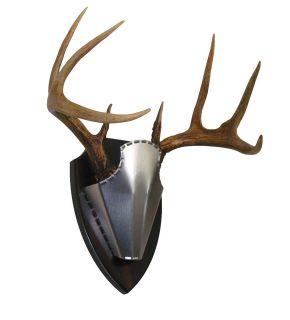 Steelcap Antler Mount Kit, European Style Mounting Kit for Deer