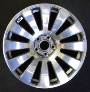 A8 19 12 Spoke Polished & Charcoal Factory OEM Wheel Rim H# 58776