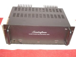 SOUNDCRAFTSMEN CLASS H MODEL A 5001 POWER AMPLIFIER
