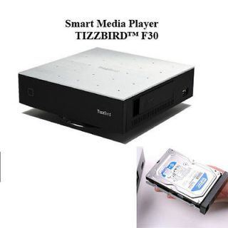 F30 Fourth Generation Android 2.3 OS Smart Media Player + 1TB HDD