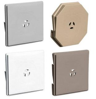 Siding Surface Mount Light Block   *High Quality*   Mount Over Siding