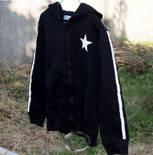 Hot BLACK ROCK SHOOTER Clothing Hooded Sweatshirt Cosplay Hoodie