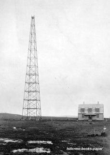 Wireless Station Antenna Tower Nome Alaska radio photo