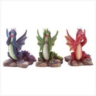 See, Hear, Speak NO EVIL DRAGONS, New Great Gift