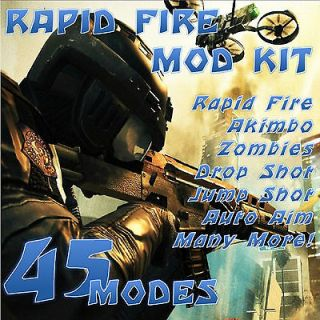 Xbox 360 Controller Rapid Fire Mod Kit 45 Mode. XBL SAFE Version A.