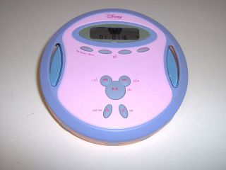 DISNEY Princess DCD6000 P Portable CD Player with AM/FM WORKS GREAT