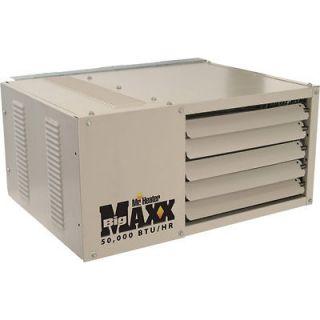 Big Maxx Natural Gas Garage/Workshop Heater  50K BTU #260420