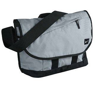 Mens Nike Grey Met Messenger Bag / Backpack / Laptop Bag