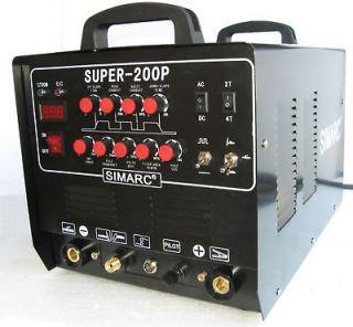 Pilot Arc Plasma Cutter & Aluminum Welder   Super 200P AC/DC PLUS