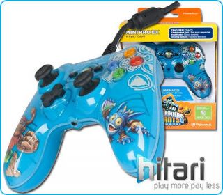Skylanders Giants Mini Pro Ex Wired Controller Blue Xbox 360 FREE UK