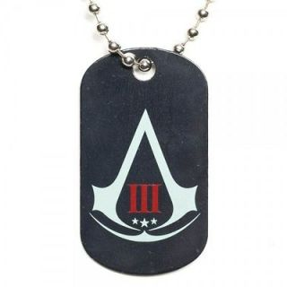PS3 Xbox 360 Game Ubisoft Assassins Creed 3 Collectors Metal Dog Tag