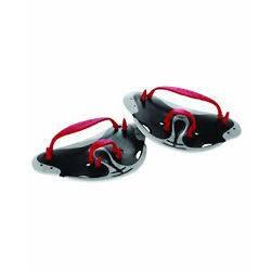 Swim Biofuse Finger Paddles   Water Training Exercise  Black Red