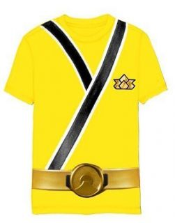 yellow power ranger costume in Clothing,