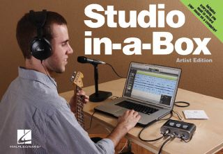 Hal Leonard STUDIO IN A BOX ARTIST EDITION Recording Studio BUNDLE
