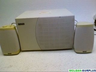 Altec Lansing Computer Subwoofer ACS295 with 2 surround speakers
