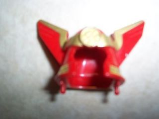 MORPHIN POWER RANGERS ZEO RED GOLD MEGAZORD HELMET ACCESSORY PIECE